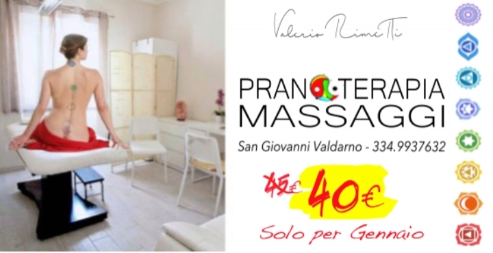 PROMOZIONE GENNAIO 2019 Massaggi olistici, Ri