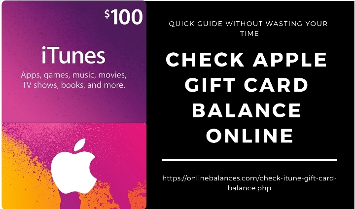 Tips To Check iTunes Gift Card Balance