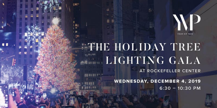 Rockefeller Center Christmas Tree Lighting - 4 DEC 2019