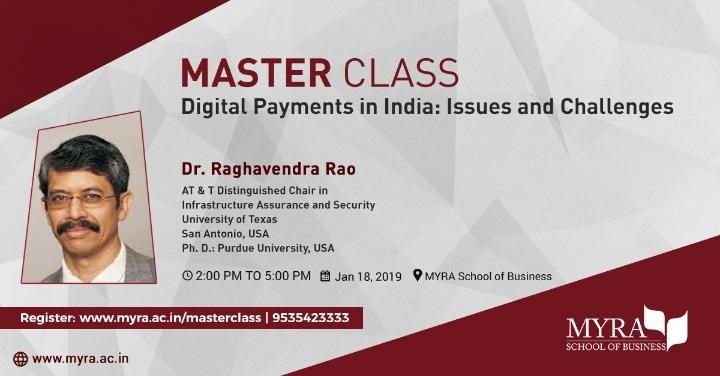 MYRA Masterclass : Digital Payments in India