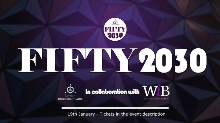 Fifty2030 - Europe's First Women in Blockchain Conference