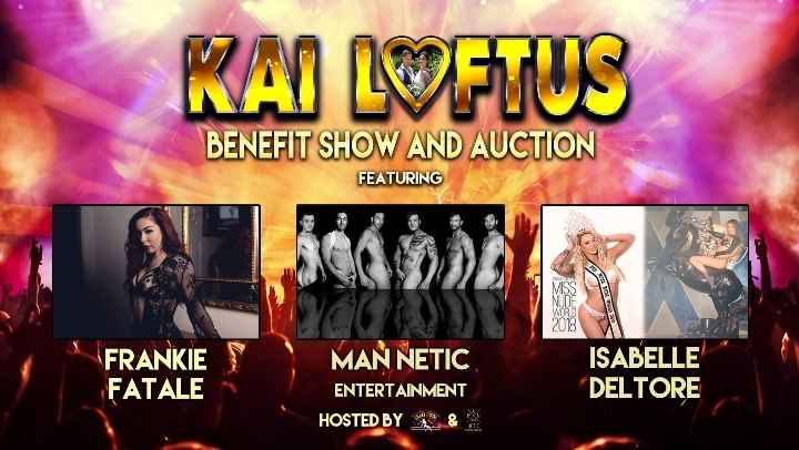 Kai Loftus Benefit Show & Auction