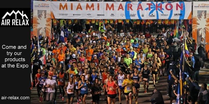 2019 Miami Marathon Expo - Air Relax USA