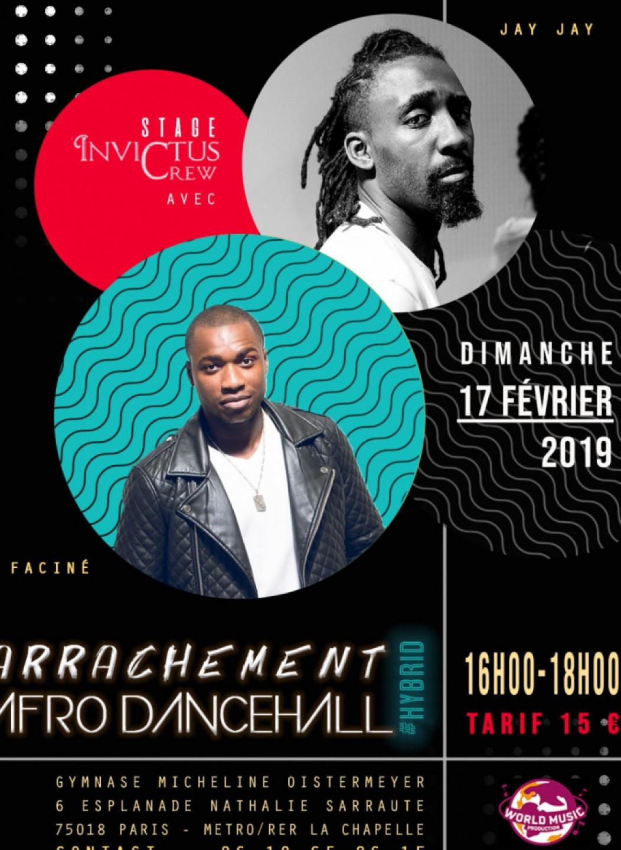Stage arrachement Afro dancehall par Jay Jay