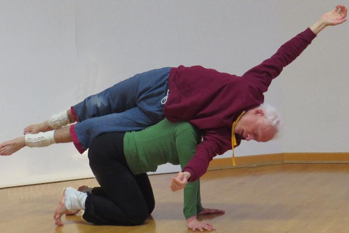 Contact-Improvisation course in Utrecht