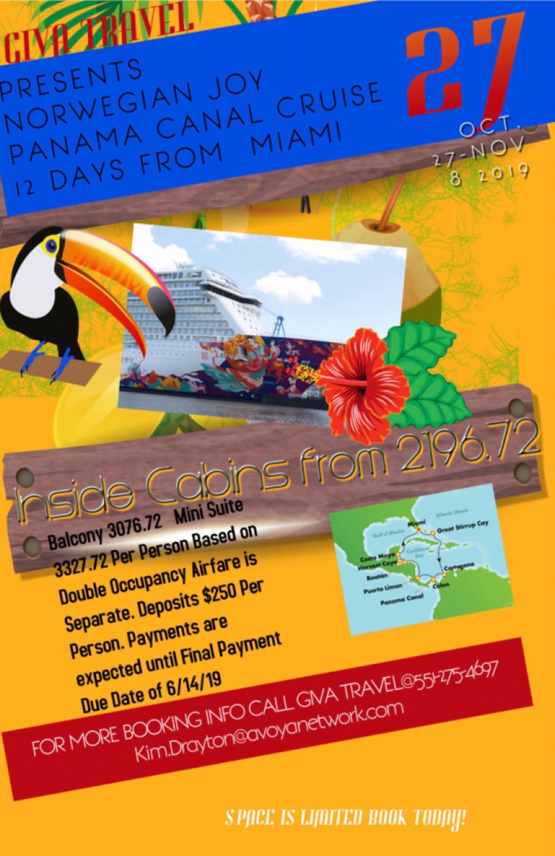 GIVA Travel presents Panama Canal Cruise