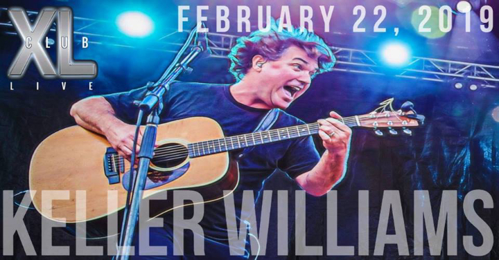 An Evening With Keller Williams at Club XL Live