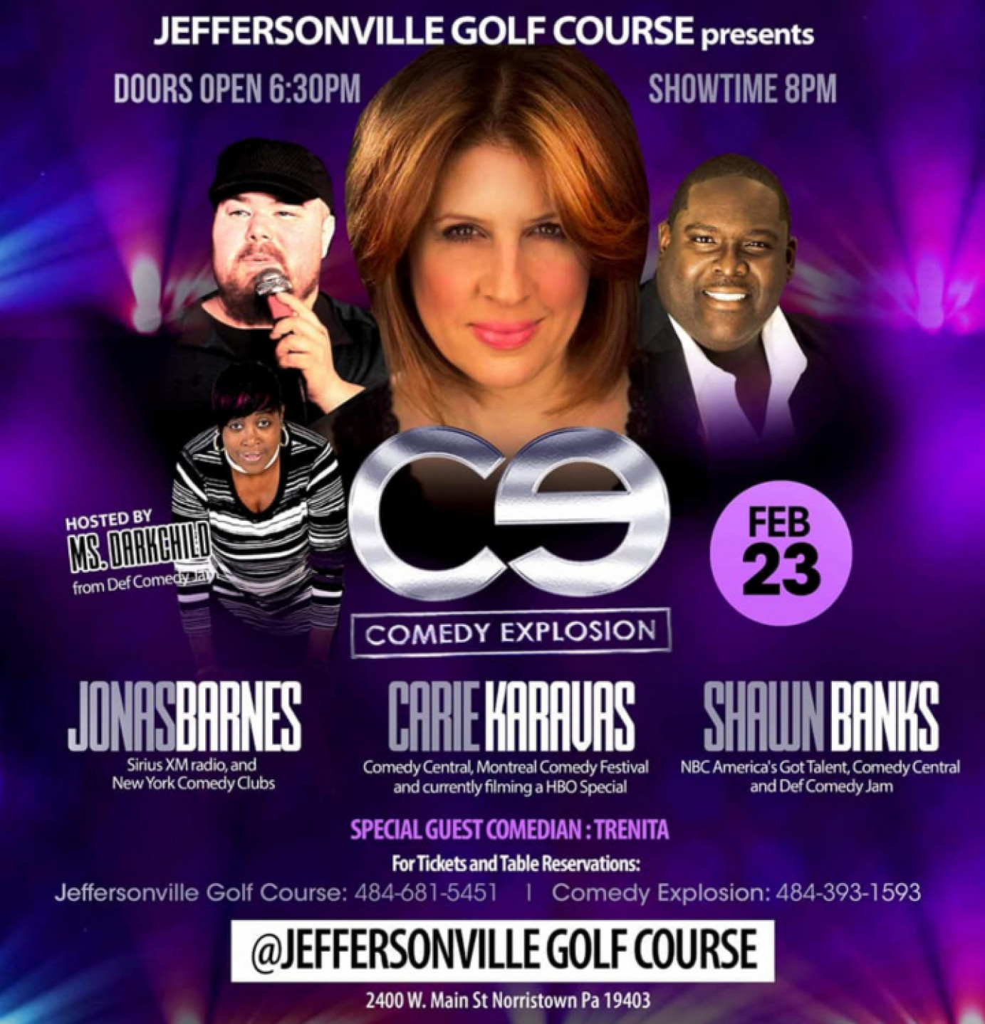 Comedy Explosion at Jeffersonville Golf Cours