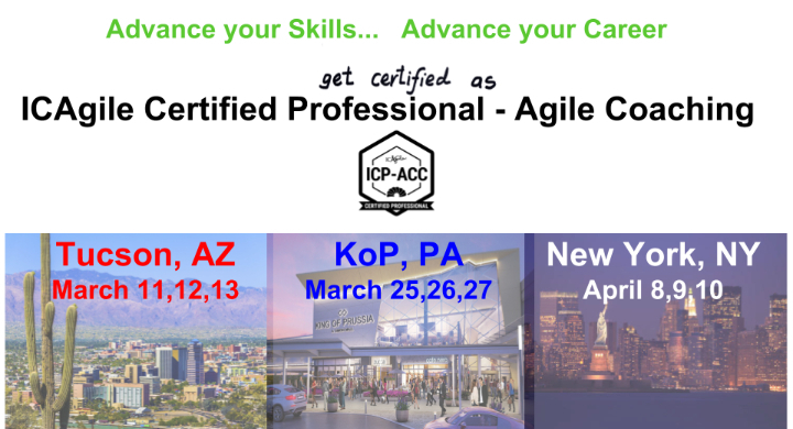 ICAgile Certified Professional - Agile Coachi