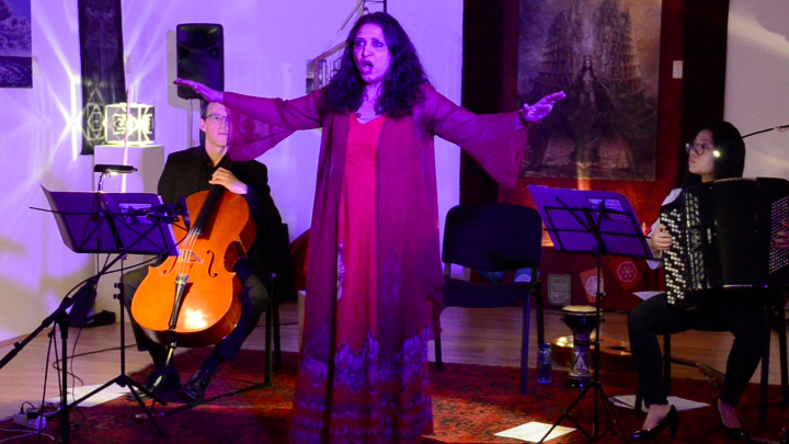 On Earth - Sarasvati Ensemble