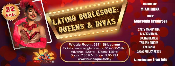 Latino Burlesque: Queens & Divas