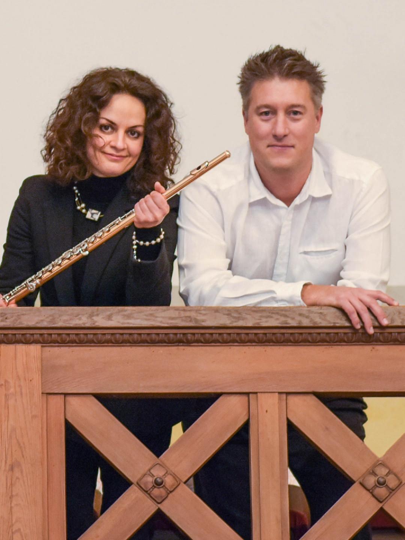 Romantisches Konzert für Flöte und Orgel