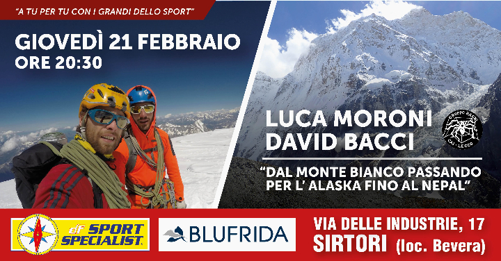 A tu per tu con i grandi dello Sport | Luca Moroni e David Bacci