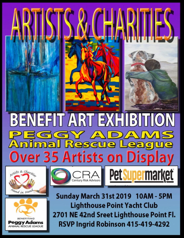 ART SHOW Benefiting Peggy Adams Animal Rescue League