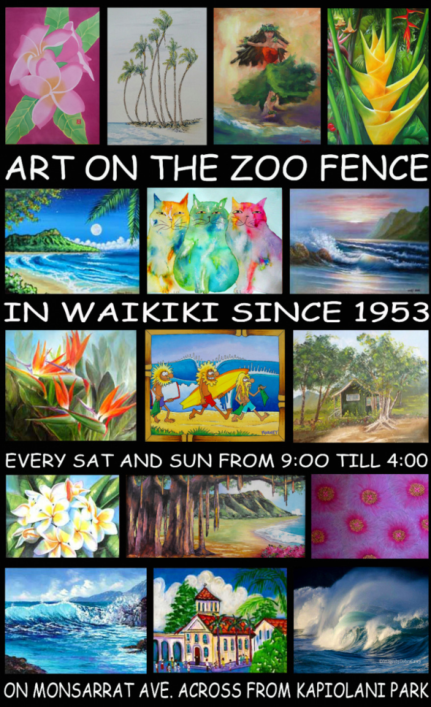 Art Show! Art on the Zoo Fence