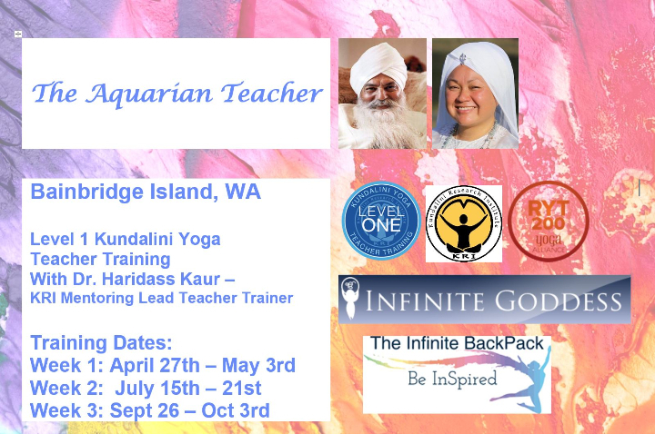 Level 1 Yoga Teacher Training