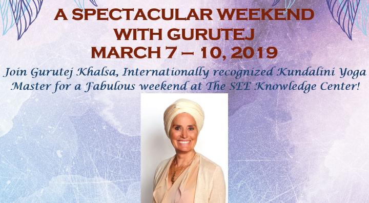 A Yoga Weekend With Gurutej Khalsa