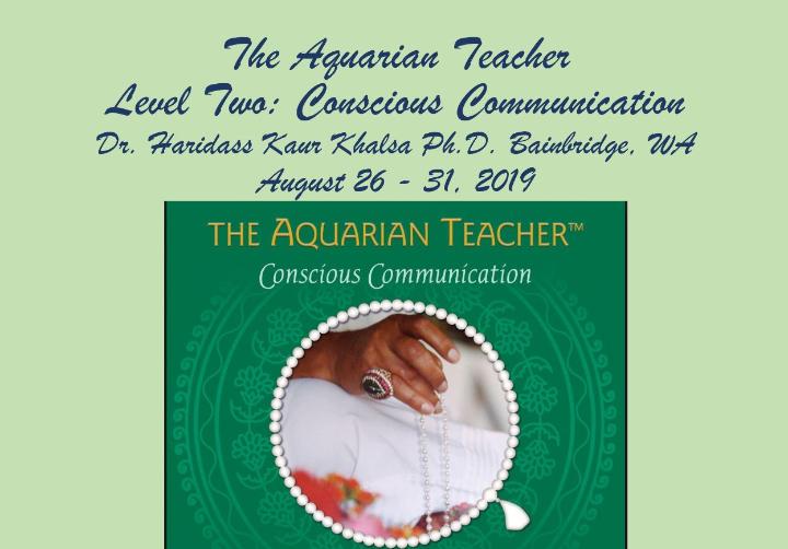 Conscious Communication Yoga Teacher Training