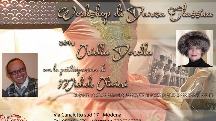 Danza Classica con Oriella Dorella