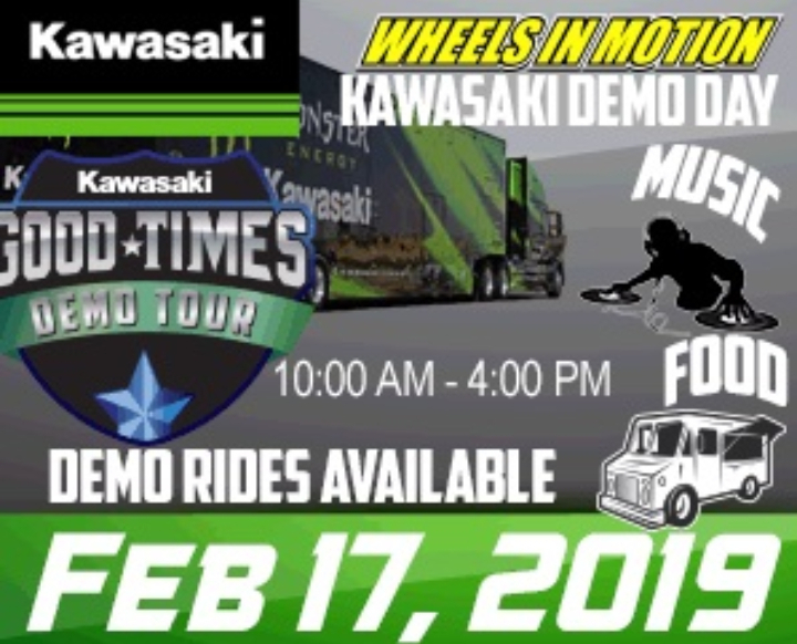 Kawasaki Demo Event