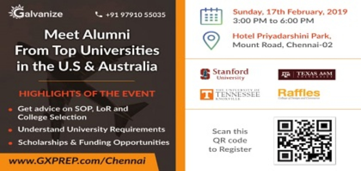 [Study Abroad Workshop @ Chennai] Meet the Al