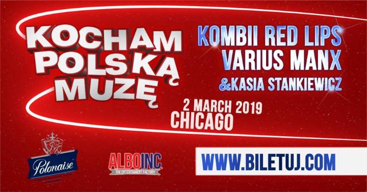 Koncert: Kombii, Varius Manx & Kasia Stankiew