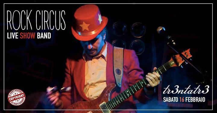 Rock Circus Live Show Band // 33 Testaccio Roma