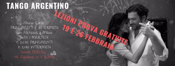 Nuovo Corso di Tango Argentino Principianti e