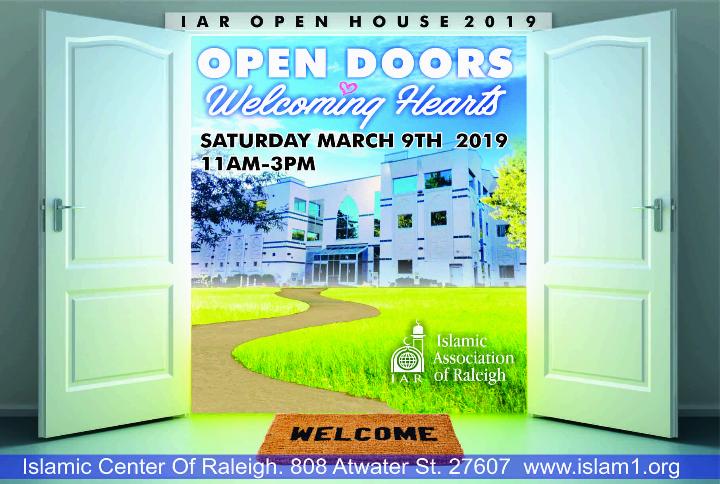 Annual Open House: Open Doors ... Welcoming Hearts