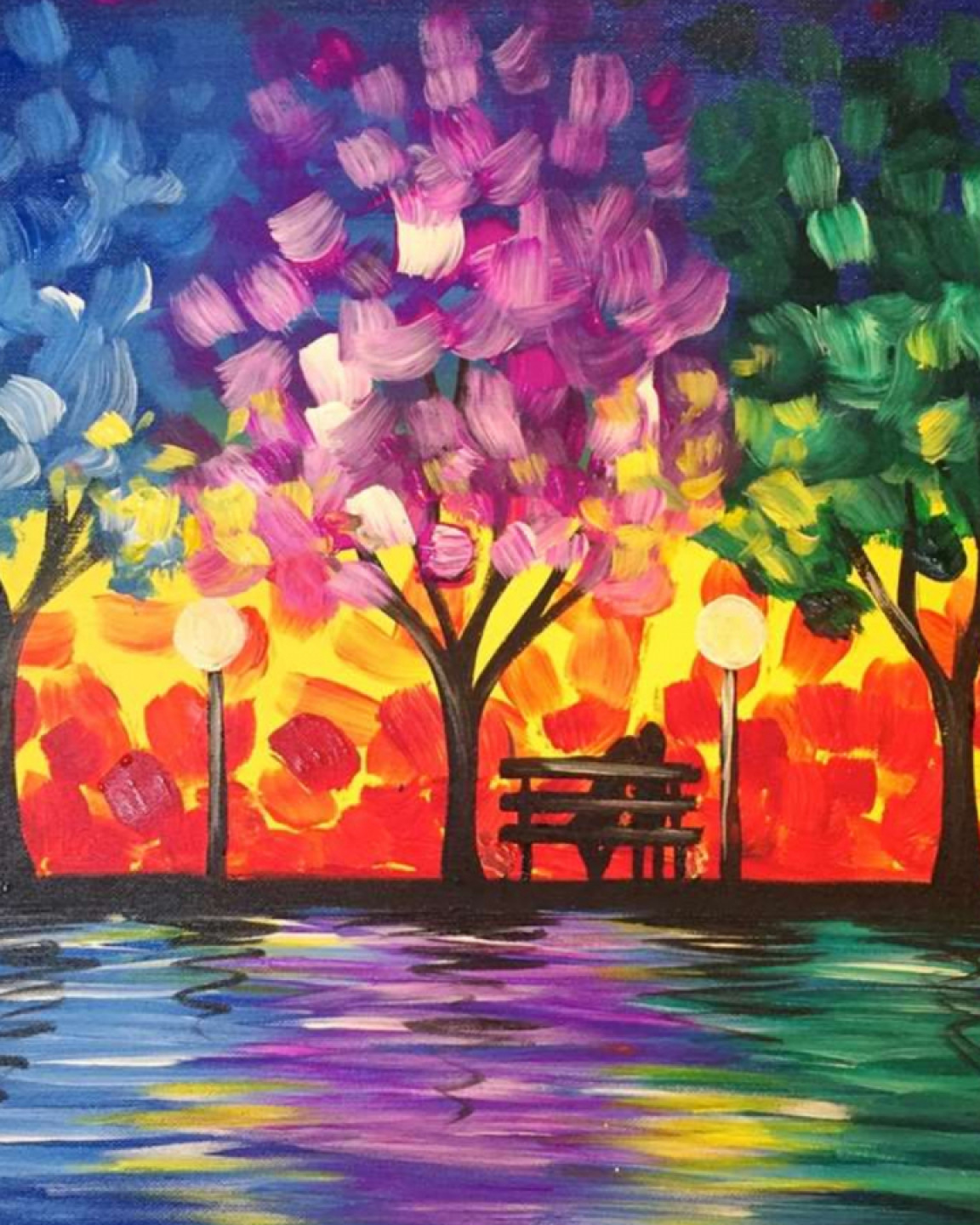 Romance in the Park - Paint and Sip