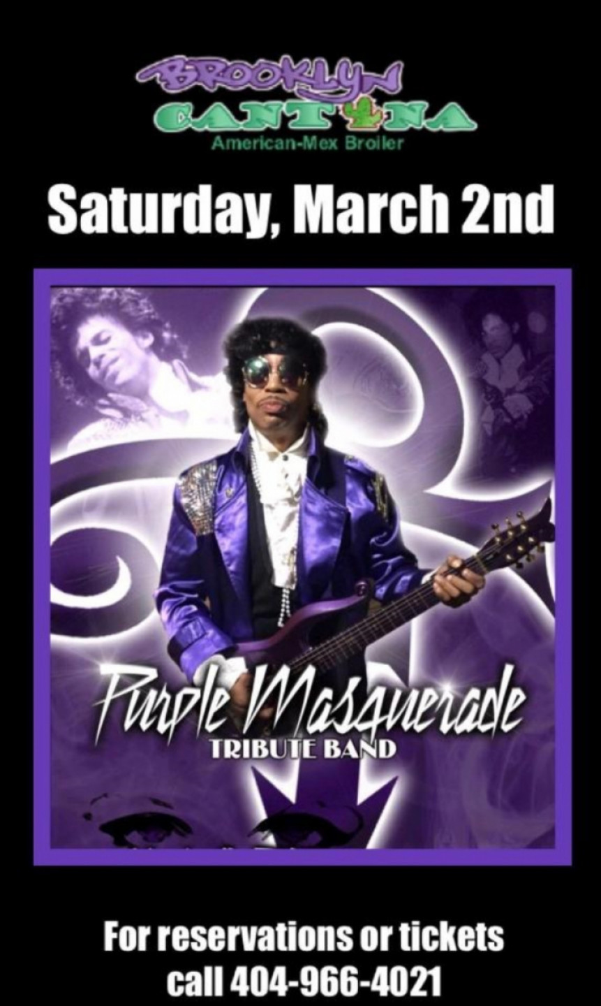 #1 Prince Tribute Band/Mardi Gras Party