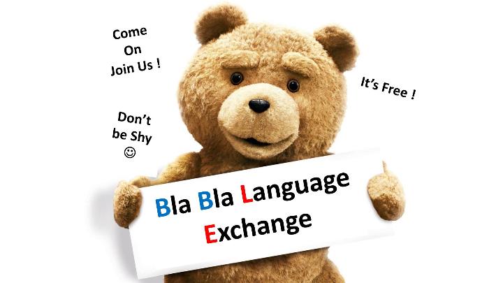 FREE BlaBla Language Exchange - Nice (France)