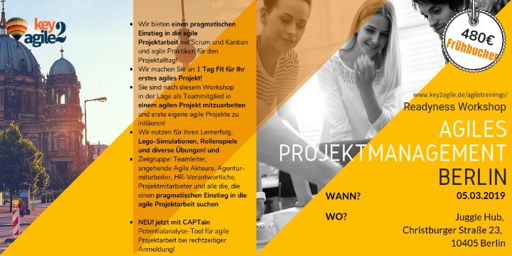Agiles Projektmanagement Readiness Workshop