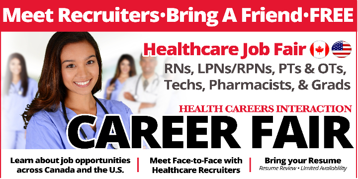Healthcare Career Fair Toronto