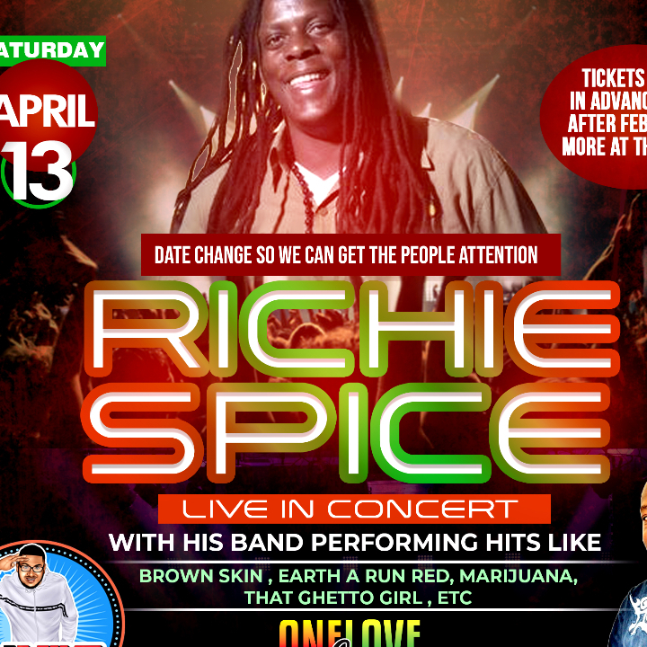 Richie Spice Live In Concert