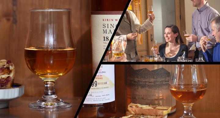 Exclusive Whisky Gourmet Dinner - A dinner li