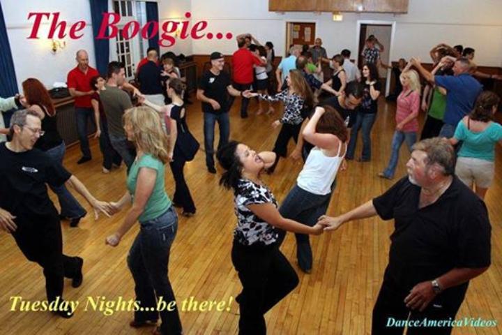 Tuesdays West Coast Swing Lessons & Dance Soc
