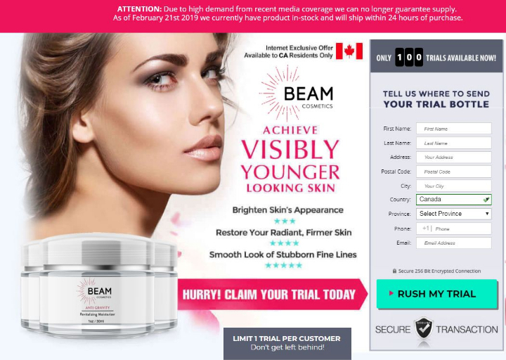 Make Your Beam Skin CanadaA Reality