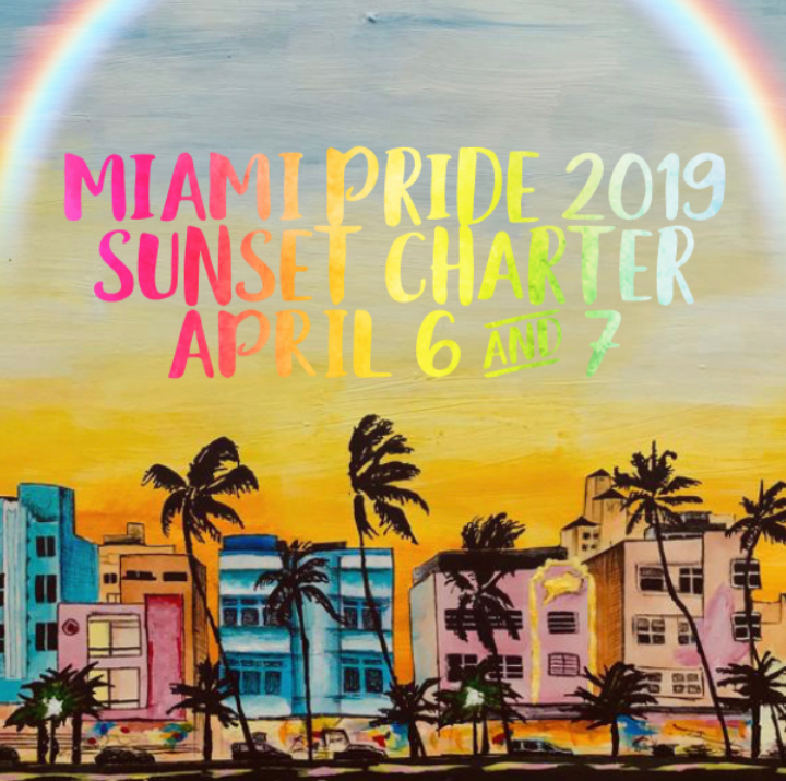 Miami Pride 2019 Open Bar Sunset Yacht Party!