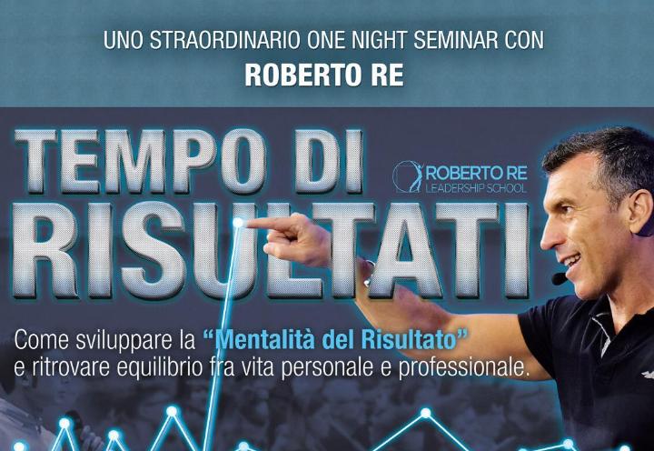 """Tempo di Risultati - Roberto Re """"live"""""""