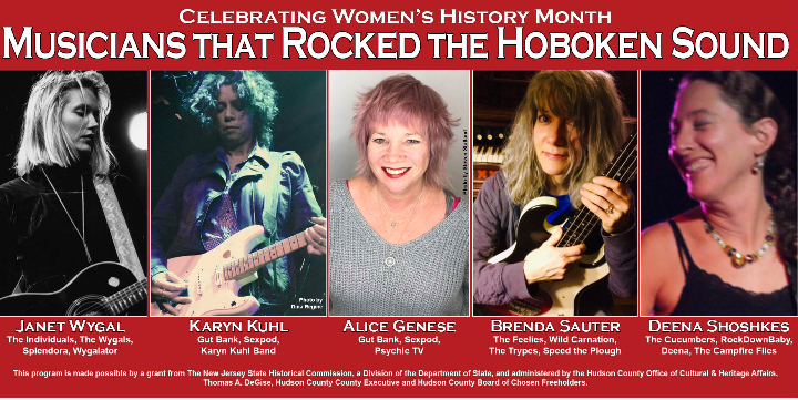 Women's History Month: Musicians who rocked the 80's Hoboken Sound