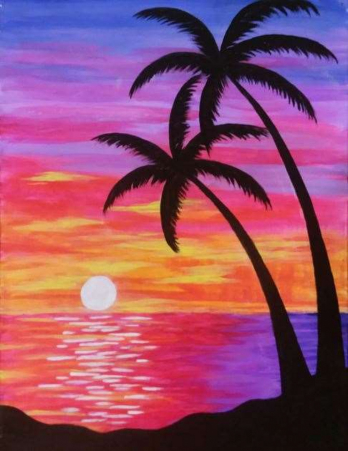 Paradise Sunset - Paint and Sip