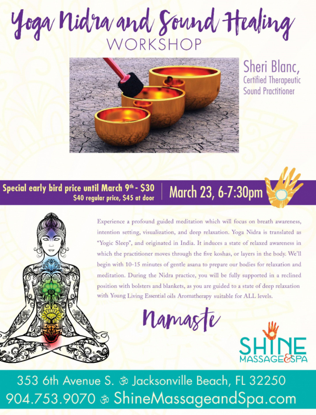 Yoga Nidra Sound Healing Workshop