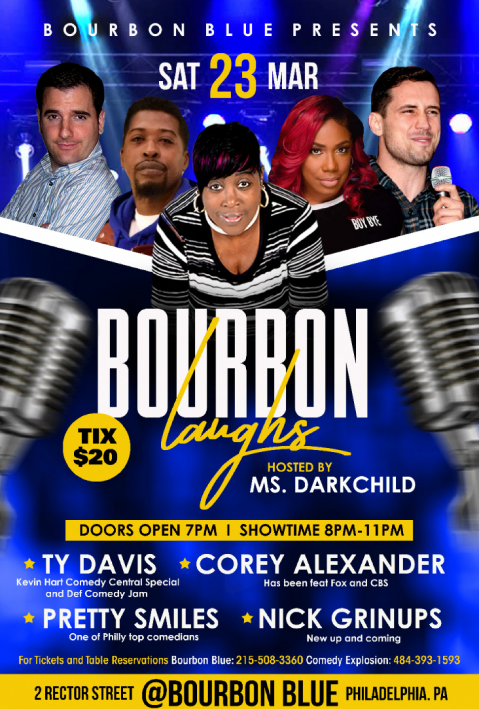 Comedy Explosion at Bourbon Blue