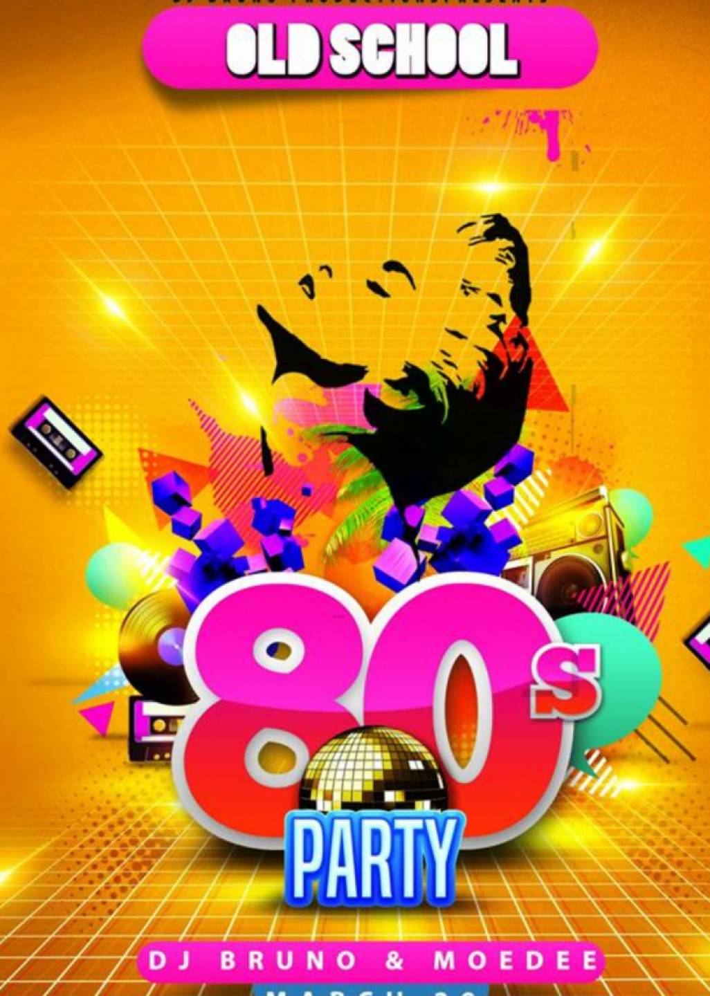 OLD SCHOOL 80'S PARTY