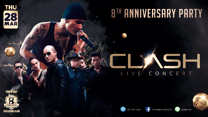 Clash Live Concert (Anniversary Party)