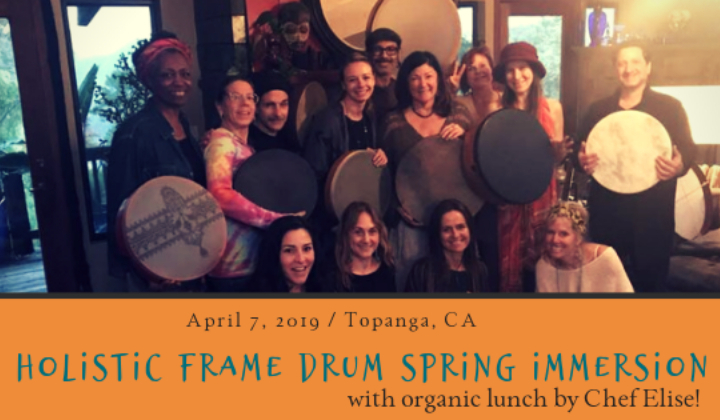 Holistic Frame Drum Spring Immersion (with or