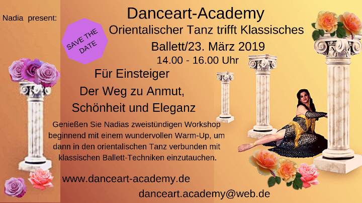 Orientalischer Tanz trifft Klassisches Ballet
