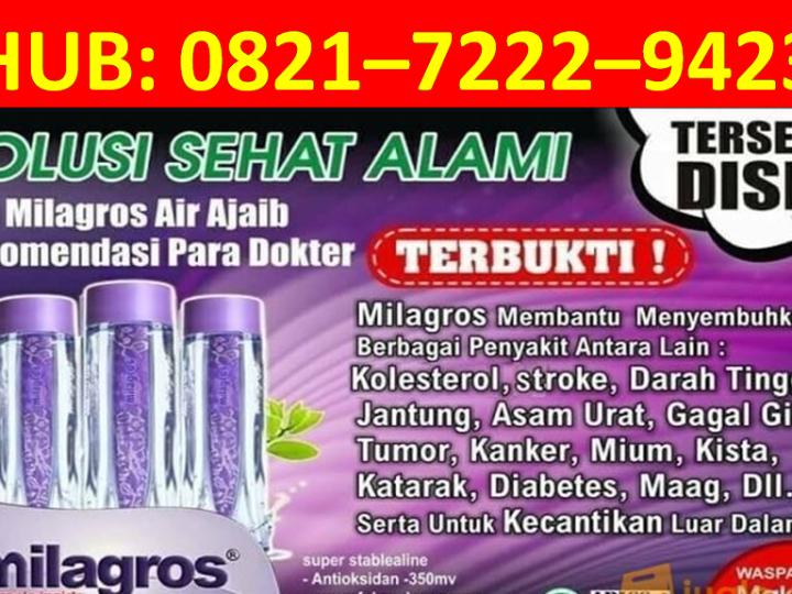 HP/WA : 0821–7222–9423 (Tsel), Agen Milagros Medan
