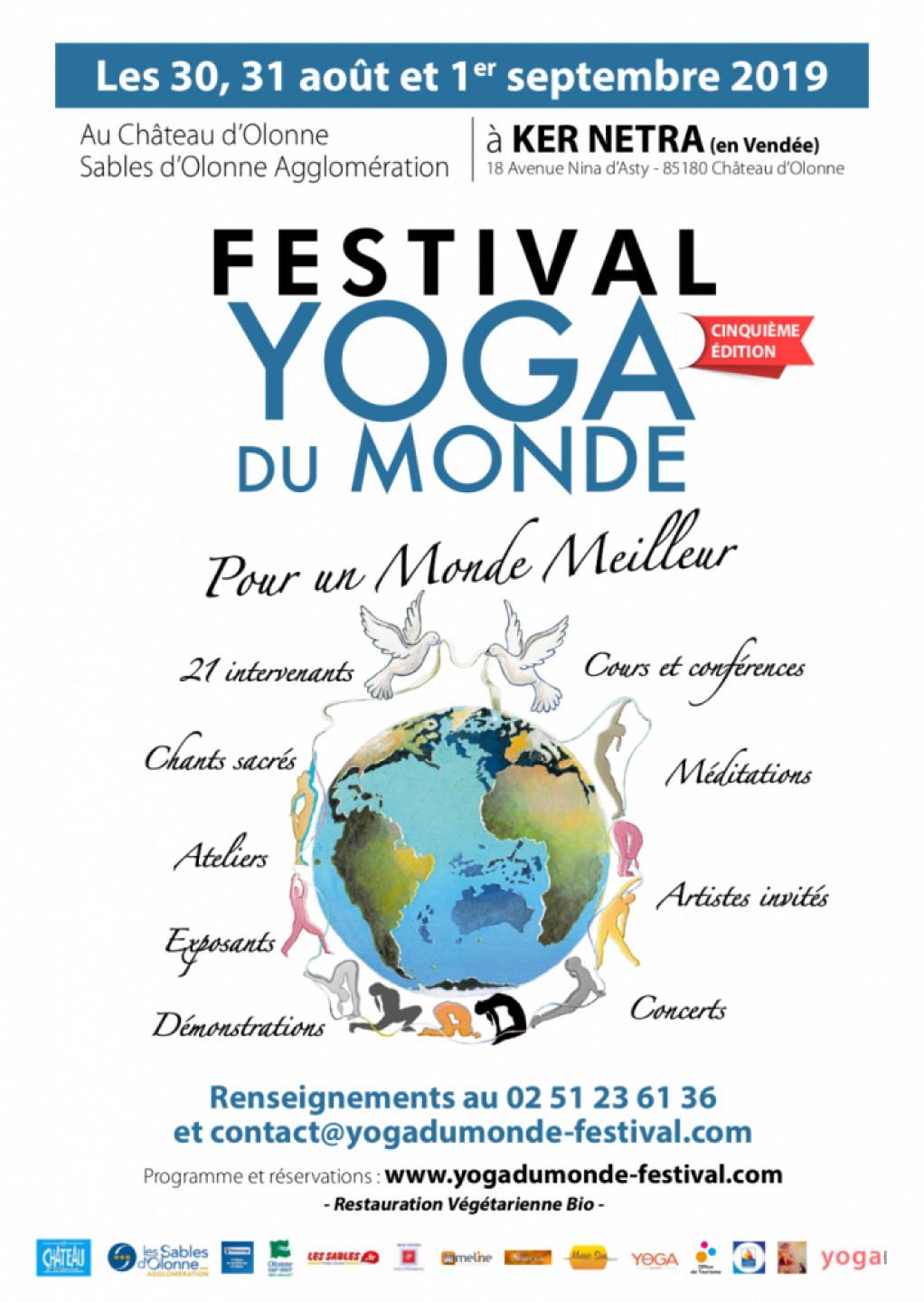 FESTIVAL YOGA DU MONDE 2019